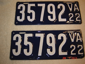 Picture of 1922 Virginia Car Pair  #35792