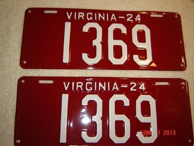 Picture of 1924 Virginia Car Pair #1369