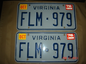 Picture of 1976 Virginia Car Pair #FLM-979