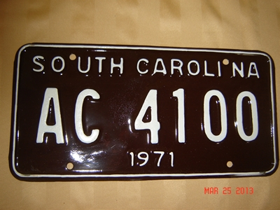 Picture of 1971 South Carolina Car #AC4100