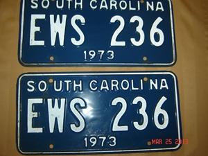 Picture of 1973 South Carolina Car Pair #EWS 236