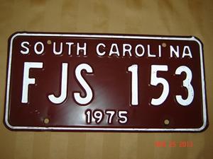 Picture of 1975 South Carolina Car #FJS 153
