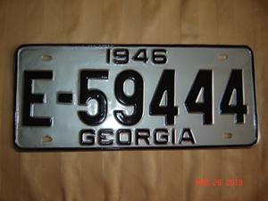 Picture of 1946 Georgia #E59444