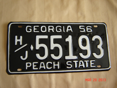 Picture of 1956 Georgia Truck #H/J 55193
