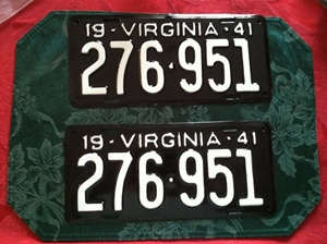 Picture of 1941 Virginia Car Pair #276-951