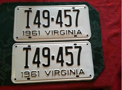 Picture of 1961 Virginia Truck Pair #T49-457