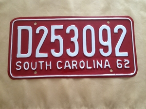 Picture of 1962 South Carolina Car #D253092