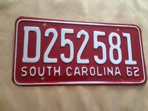 Picture of 1962 South Carolina Car #D252581