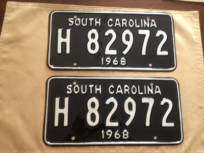 Picture of 1968 South Carolina Truck Pair #H82972