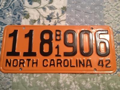 Picture of 1942 North Carolina Truck #118 B1 906