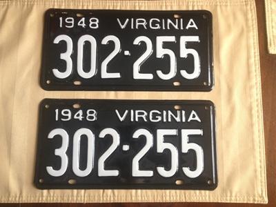 Picture of 1948 Virginia Car Pair #302-255