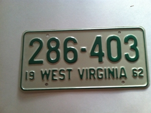 Picture of 1962 West Virginia Car #286-403