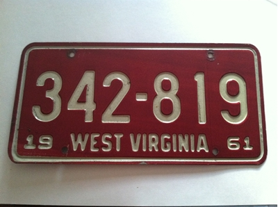 Picture of 1961 West Virginia Car #342-819