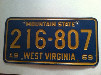 Picture of 1969 West Virginia Car #216-807