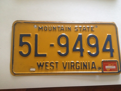 Picture of 1975 West Virginia Car # 5L-9494
