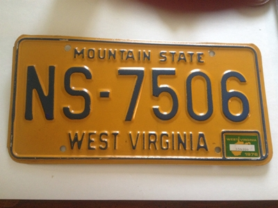 Picture of 1976 West Virginia Car #NS-7506