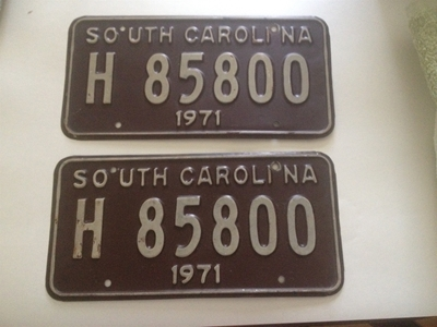 Picture of 1971 South Carolina Truck Pair #H-85800