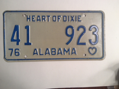 Picture of 1976 Alabama #41-923