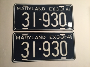 Picture of 1941 Maryland Pair #31-930