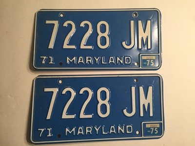 Picture of 1971 Maryland Truck Pair #7228-JM