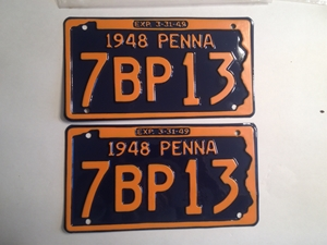 Picture of 1948 Pennsylvania Pair #7BP13
