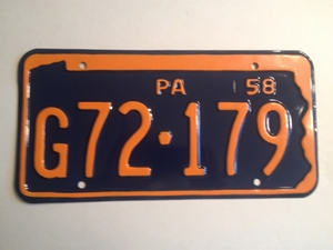 Picture of 1958 Pennsylvania #G72-179