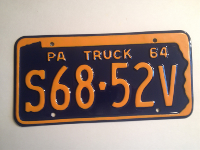 Picture of 1964 Pennsylvania Truck #S68-52V