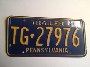 Picture of 1977 Pennsylvania Trailer #TG-27976