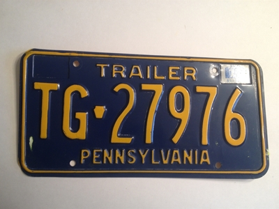 Picture of 1977 Pennsylvania Trailer #TG-27976