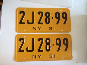 Picture of 1931 New York Pair #2J 28-99