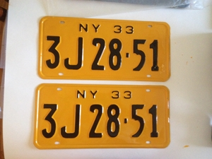 Picture of 1933 New York Pair #3J 28-51