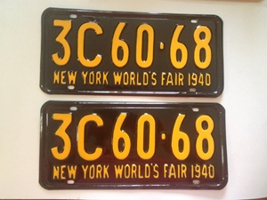 Picture of 1940 New York Pair #3C 60-68