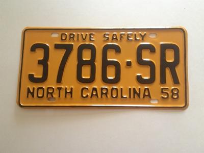 Picture of 1958 North Carolina Truck #3786-SR