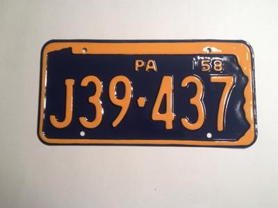 Picture of 1958 Pennsylvania #J39-437