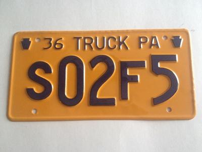 Picture of 1936 Pennsylvania Truck #S02FS