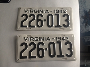 Picture of 1942 Virginia Car Pair #226-113
