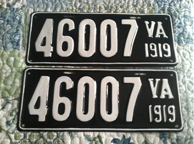 Picture of 1919 Virginia Car Pair #46007