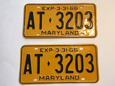 Picture of 1966 Maryland Car Pair #AT-3203