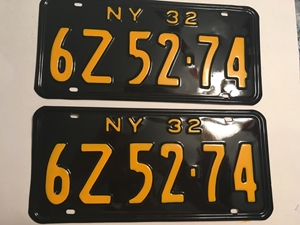 Picture of 1932 New York Pair #6Z52-74