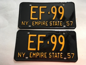 Picture of 1957 New York Pair #EF-99