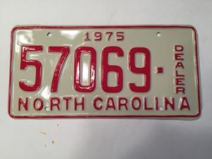 Picture of 1975 North Carolina Dealer #57069