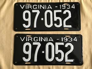 Picture of 1934 Virginia Car Pair #97-052
