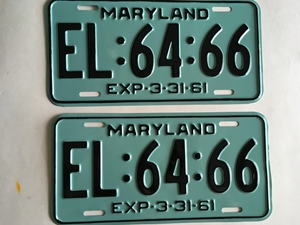 Picture of 1961 Maryland Car Pair #EL-64-66