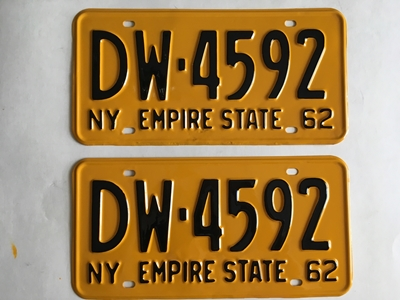 Picture of 1962 New York Pair #DW4592