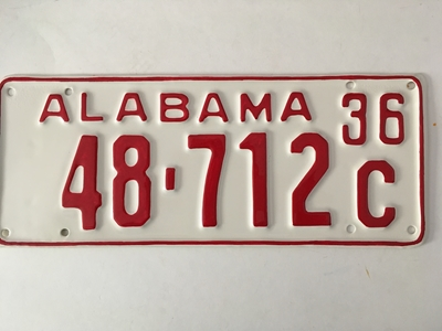 Picture of 1936 Alabama Car #48-712C