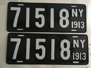 Picture of 1913 New York Pair #71518