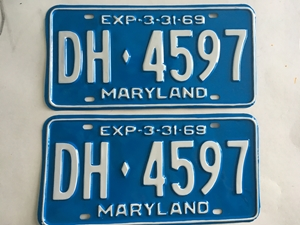 Picture of 1969 Maryland Car Pair #DH4597