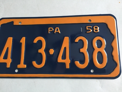 Picture of 1958 Pennsylvania #413-438