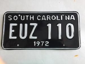 Picture of 1972 South Carolina #EUZ-110
