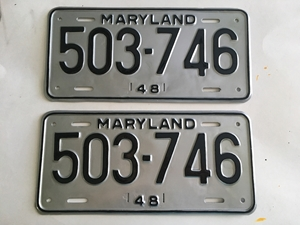 Picture of 1948 Maryland Pair #503-746